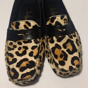 Cole Haan cowhide loafers, size 5.5